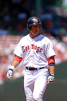 OF Ryan Kalish,of the Portland Sea Dogs at Fenway Park, Boston, MA on August 8, 2009 (Photo by Ken Babbitt/Four Seam Images)