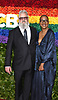 Toni-Leslie James on right attends the 2019 Tony Awards on June 9, 2019 at Radio City Music Hall in New York, New York, USA.<br /> <br /> photo by Robin Platzer/Twin Images<br />  <br /> phone number 212-935-0770