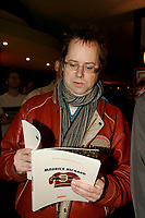 """Denis Bouchard <br /> at the launch of a souvenir book on Quebec Hockey idol Maurice ''The Rocket """" Richard, November 16 2005 in Montreal, Canada"""