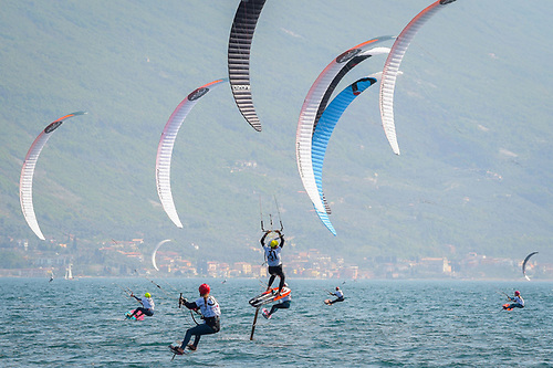 The Mixed Kiteboarding competition will be one of the fastest events at the Olympic Games