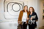 Pictured at the exhibition of work from International Artist Regine Bartsch which opened at the Butter Market in Kenmare on Friday evening were l-r; Fiona Higgins & Elizabeth Conlon.