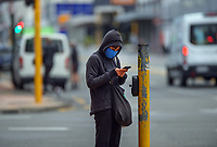 Courtenay Place at 7am, Tuesday during Alert Level 2 for the COVID-19 pandemic in Wellington, New Zealand on Tuesday, 14 September 2021.