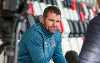 Monday 21st October 2019 | Ulster Rugby Match Briefing vs Cardiff<br /> <br /> Ulster Rugby Defence Coach Jared Payne - Ulster Rugby Match Briefing ahead of Ulster PRO14 League clash against Cardiff Blues at Kingspan Stadium, Ravenhill Park, Belfast, Northern Ireland. Photo by John Dickson / DICKSONDIGITAL