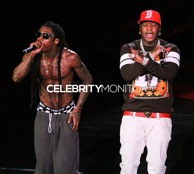 IRVINE, CA - SEPTEMBER 01: America's Most Wanted Music Festival 2013 With Lil Wayne, T.I. and 2 Chainz at the Verizon Wireless Amphitheater on September 1, 2013 in Irvine, California. (Photo by Xavier Collin/Celebrity Monitor)
