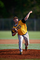 Nick Gorby during the WWBA World Championship at the Roger Dean Complex on October 21, 2018 in Jupiter, Florida.  Nick Gorby is a left handed pitcher from Port St. Lucie, Florida who attends John Carroll Catholic High School and is committed to Florida State.  (Mike Janes/Four Seam Images)