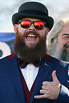 Nathan Shesler, from Los Angeles, visiting his Carson City father took part in the best-manicured beard category in the Nevada Day Beard Contest in Carson City, Nev., on Saturday, October 28, 2017. <br /> Photo by Lance Iversen/Nevada Momentum