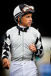 August  02 2014: Jockey, Mike Smith at the G1 Clement L. Hirsch Stakes at Del Mar Race Track in Del Mar CA. Alex Evers/ESW/CSM