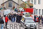 The funeral of Mike Joe Quinlan in Ballyduff on Monday.