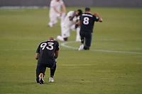SAN JOSE, CA - SEPTEMBER 5: Judson #93 of the San Jose Earthquakes before a game between Colorado Rapids and San Jose Earthquakes at Earthquakes Stadium on September 5, 2020 in San Jose, California.