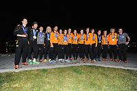 OLYMPICS: SOCHI: Holland Heinekenhuis, 22-02-2014, alle Nederlandse medaillewinnaars, ©foto Martin de Jong