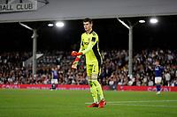 21st September 2021; Craven Cottage, Fulham, London, England; EFL Cup Football Fulham versus Leeds; Goalkeeper Illan Meslier of Leeds United