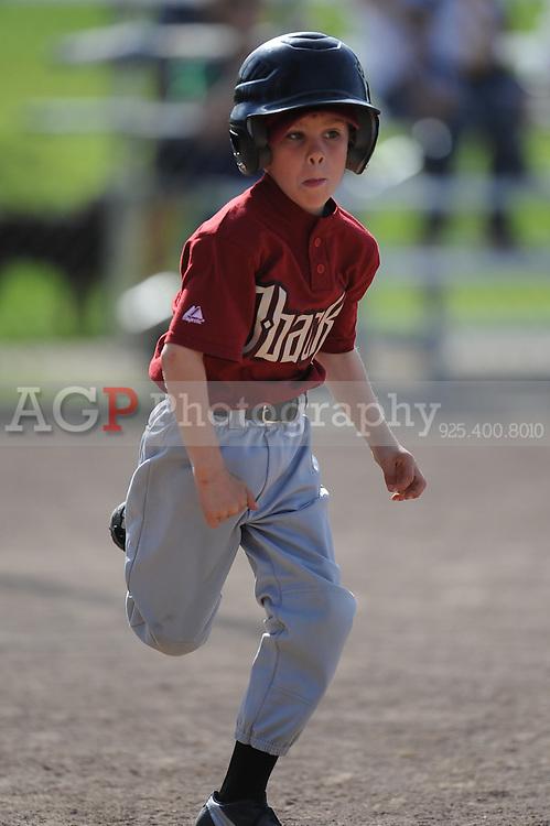 The A Diamondbacks of Pleasanton National Little League  March 28, 2009.