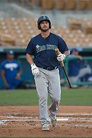 Seattle Mariners catcher Nick Thurman (41) during a Minor League Spring Training game against the Los Angeles Dodgers at Camelback Ranch on March 28, 2018 in Glendale, Arizona. (Zachary Lucy/Four Seam Images)