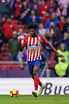 Thomas Teye Partey of Atletico de Madrid in action during the La Liga 2018-19 match between Atletico de Madrid and Deportivo Alaves at Wanda Metropolitano on December 08 2018 in Madrid, Spain. Photo by Diego Souto / Power Sport Images