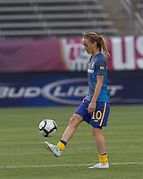 Sweden midfielder Kosovare Asllani (10). The US Women's national team beat Sweden, 3-0, at Rentschler Field on July 17, 2010.