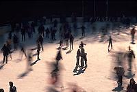 Ice skaters in Central Park<br />