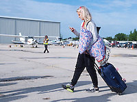 Winnipeg, Canada- June 13, 2015:  The USWNT traveled to Vancouver for the FIFA Women's World Cup.
