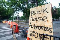 White House Barricade