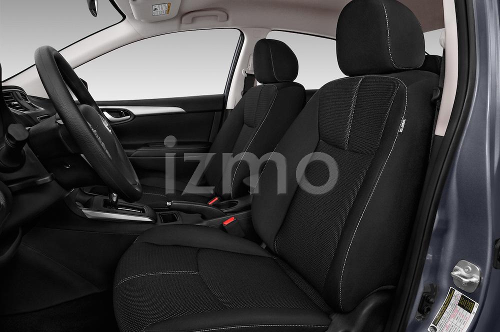 Front seat view of 2017 Nissan Sentra S 4 Door Sedan Front Seat  car photos