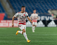 FOXBOROUGH, MA - AUGUST 21: Matt Bolduc #7 of Richmond Kickers during a game between Richmond Kickers and New England Revolution II at Gillette Stadium on August 21, 2020 in Foxborough, Massachusetts.