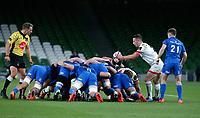 Saturday 12th September 2020 | PRO14 Final - Leinster vs Ulster<br /> <br /> John Cooney during the Guinness PRO14 Final between Leinster ands Ulster at the Aviva Stadium, Lansdowne Road, Dublin, Ireland. Photo by John Dickson / Dicksondigital