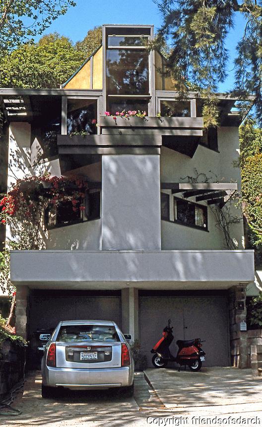 Rudolph Schindler: Tisdhler House, Westwood, CA.  1949