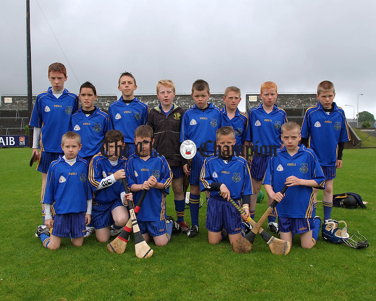 Clare Primary School Finals at Cusack Park..The Flagmount/Dromindora School team who played Bridgetown. Picture:Press 22