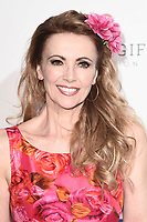 Emma Samms <br /> arriving for the Football for Peace initiative dinner by Global Gift Foundation at the Corinthia Hotel, London<br /> <br /> ©Ash Knotek  D3493  08/04/2019