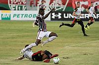 RIO DE JANEIRO (RJ) - 16/01/2021 - FLUMINENSE-SPORT - Luiz Henrique, do Fluminense. Partida entre Fluminense e Sport, válida pela 30ª rodada do Campeonato Brasileiro 2020, realizada no Estádio Nilton Santos (Engenhão), no Rio de Janeiro, neste sábado (16).