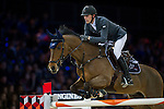 Kevin Staut on For Joy van't Zorgvliet HDC competes during the Airbus Trophy at the Longines Masters of Hong Kong on 20 February 2016 at the Asia World Expo in Hong Kong, China. Photo by Juan Manuel Serrano / Power Sport Images