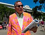 July 5, 2014: Scenes from around the track on Belmont Derby Day at Belmont Park in Elmont, New York. Scott Serio/ESW/CSM