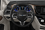 Car pictures of steering wheel view of a 2018 Chrysler Pacifica LX 5 Door Mini Van