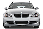 Straight front view of a 2005 - 2008 BMW 3-Series 328i Wagon.