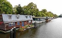 Nederland - Amsterdam- 2020.    Oostenburgergracht. Woonboten.  Foto ANP / HH / Berlinda van Dam