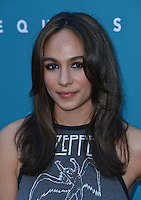 Aurora Perrineau @ the premiere of 'Equals' held @ the Arclight theatre. July 7, 2016