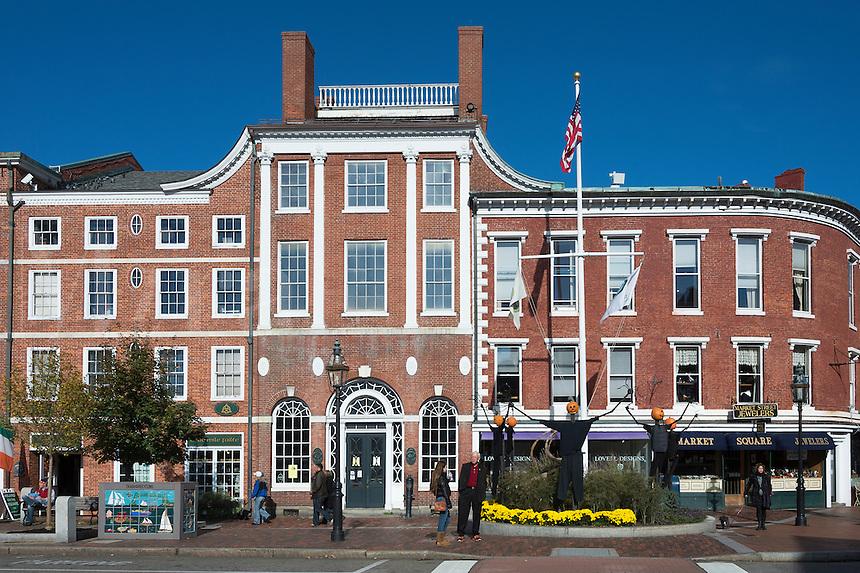 Portsmouth, New Hampshire, USA.