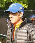 April 29 201: Kentucky Derby works Jockey Chrisophe Soumillon. Sue Kawczynski/ESW/CSM