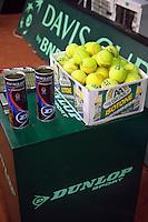 16-9-09, Netherlands,  Maastricht, Tennis, Daviscup Netherlands-France, Training,
