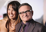 Robin Williams & date at Disney's World Premiere of Old Dogs held at The El Capitan Theatre in Hollywood, California on November 09,2009                                                                   Copyright 2009 DVS / RockinExposures
