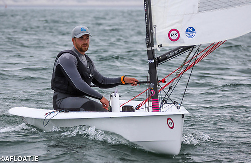 Hammy Baker was the overall winner of the PY rated RS Aero Easterns 2021 on Dublin Bay
