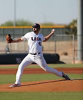 Brian Flynn - USA Baseball Premier 12 Team - October 25- 28, 2019 (Bill Mitchell)