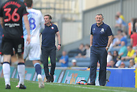 Blackburn Rovers manager Tony Mowbray shouts instructions to his team from the dug-out <br /> <br /> Photographer Kevin Barnes/CameraSport<br /> <br /> The EFL Sky Bet Championship - Blackburn Rovers v Bolton Wanderers - Monday 22nd April 2019 - Ewood Park - Blackburn<br /> <br /> World Copyright © 2019 CameraSport. All rights reserved. 43 Linden Ave. Countesthorpe. Leicester. England. LE8 5PG - Tel: +44 (0) 116 277 4147 - admin@camerasport.com - www.camerasport.com