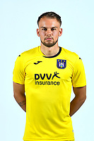 30th July 2020, Turbize, Belgium;  Timon Wellenreuther goalkeeper of Anderlecht  pictured during the team photo shoot of RSC Anderlecht prior the Jupiler Pro league football season 2020 - 2021 at Tubize training Grounds.