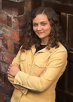 Casual portrait of a confident young woman