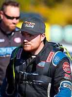 Oct 14, 2019; Concord, NC, USA; NHRA pro mod driver Steven Whiteley during the Carolina Nationals at zMax Dragway. Mandatory Credit: Mark J. Rebilas-USA TODAY Sports