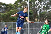 Cory Vickers of the North Wellington FC during the Central League Football -  North Wellington FC v Wairarapa United at Alex Moore Park ( Alex Moore Artificial) / Johnsonville / New Zealand on Saturday 29 May 2021.<br /> Copyright photo: Masanori Udagawa /  www.photosport.nz