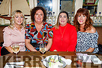 Pauline O'Donoghue, Liz Kelly Regan, Diane O'Shea and Tracy Bulger enjoying the evening in the Mall Tavern on Saturday.