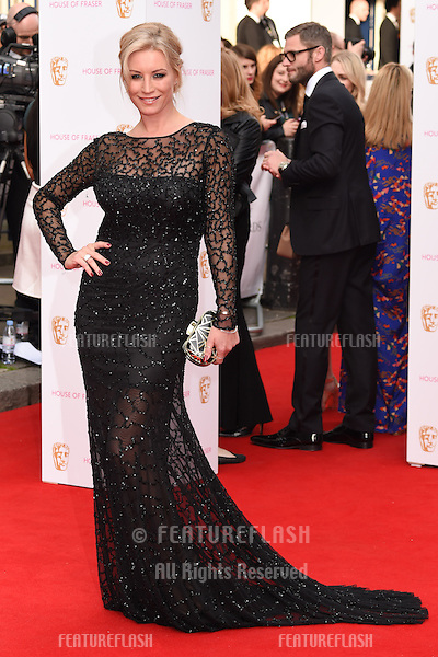 Denise van Outen<br /> arrives for the 2015 BAFTA TV Awards at the Theatre Royal, Drury Lane, London. 10/05/2015 Picture by: Steve Vas / Featureflash