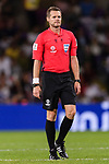 FIFA Referee Christopher Beath of Australia reacts during the AFC Asian Cup UAE 2019 Semi Finals match between I.R. Iran (IRN) and Japan (JPN) at Hazza Bin Zayed Stadium  on 28 January 2019 in Al Alin, United Arab Emirates. Photo by Marcio Rodrigo Machado / Power Sport Images