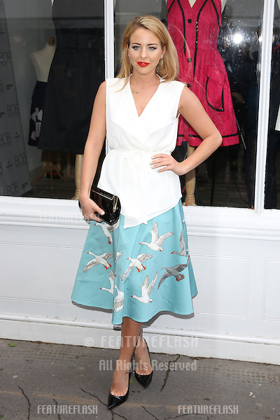 Lydia Bright, Lydia Rose Bright arriving for the BOB By Dawn O'Porter Pop Up Boutique - VIP Launch Party<br /> London, England. 06/05/2015 Picture by: James Smith / Featureflash